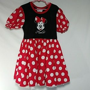 Disney Park Minnie Mouse Dress